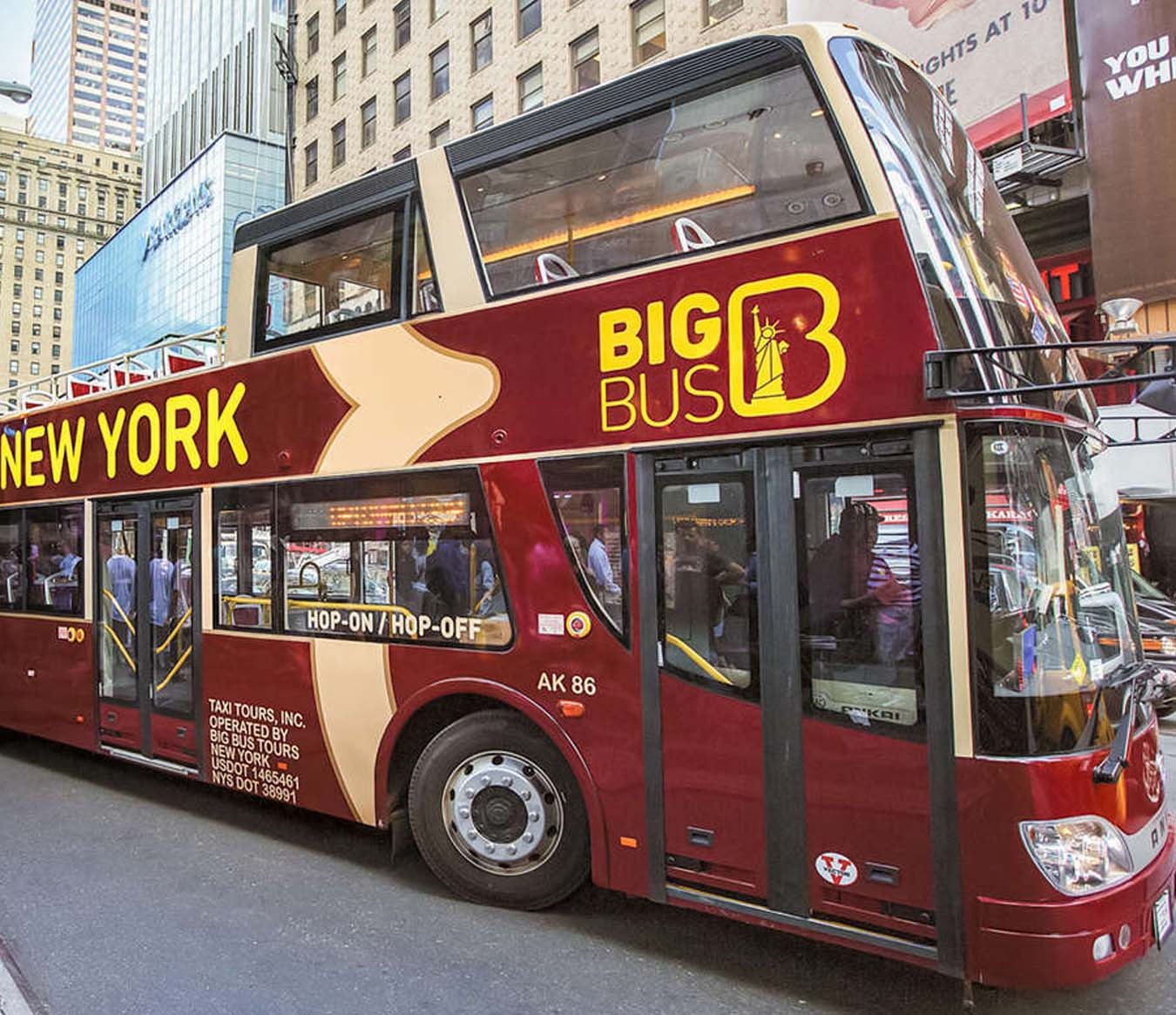 Things to Do in New York City - New York Hop-On Hop-Off Bus Tour
