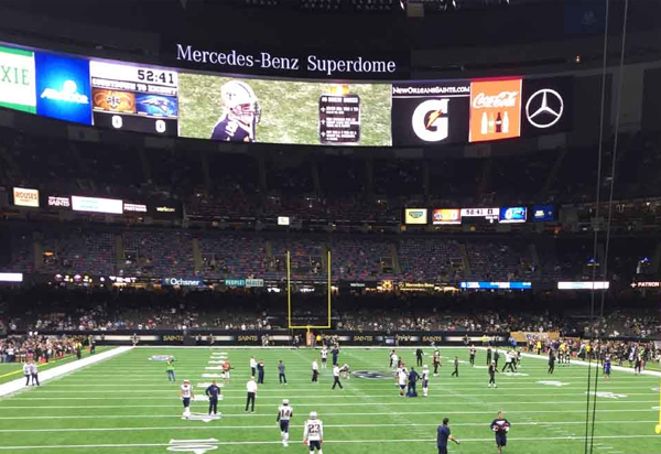 Green Bay Packers at New Orleans Saints