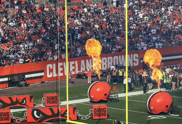 Philadelphia Eagles at Cleveland Browns