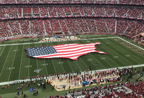 LA Rams at San Francisco 49ers