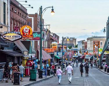 Things to Do in Memphis - Beale Street
