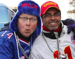 Kansas City Chiefs at Buffalo Bills Bus Tours