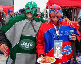 New York Jets at Buffalo Bills Bus Tour