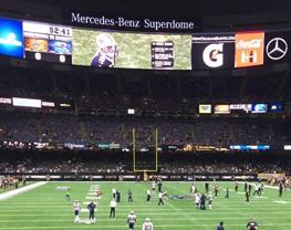 Minnesota Vikings at New Orleans Saints