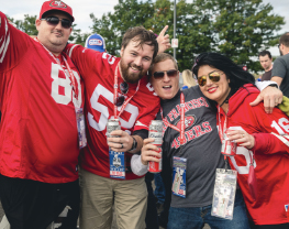 San Francisco 49ers Home Opener