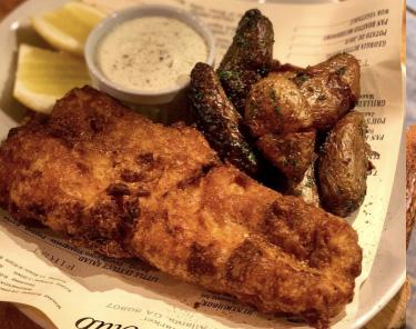 Where to Eat In Atlanta -Ticonderoga Club