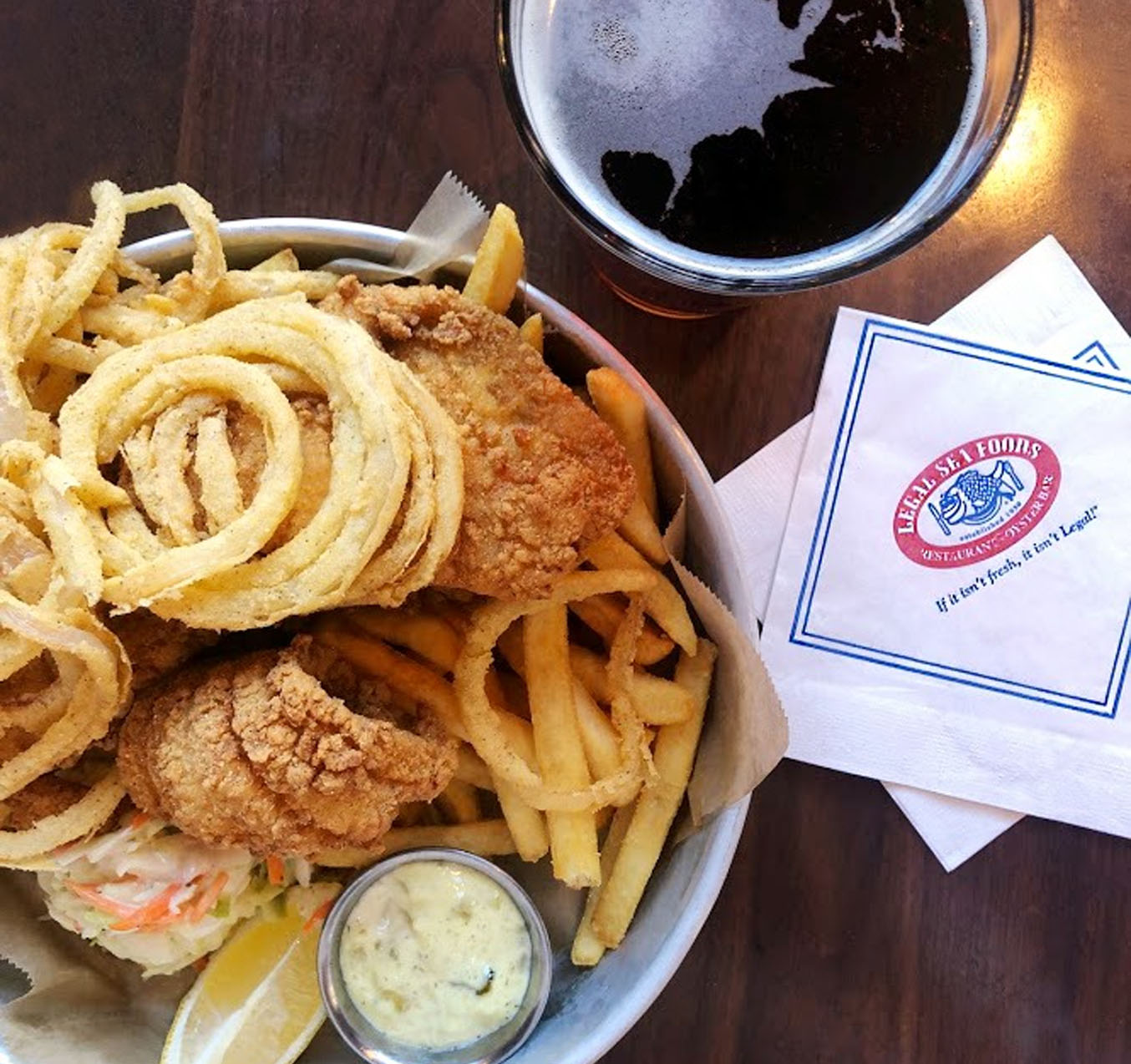 Where to Eat In Boston - Legal Sea Food