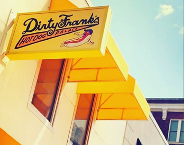 Where to Eat In Columbus - Fancy Franks Gourmet Hot Dogs