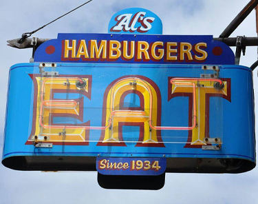 Where to Eat In Green Bay - Al's Hamburger Shop