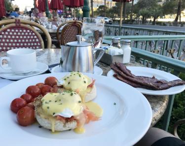Where to Eat In Las Vegas - Mon Ami Gabi