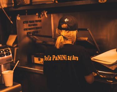 Where to Eat In Montreal - Joe's Panini 24h