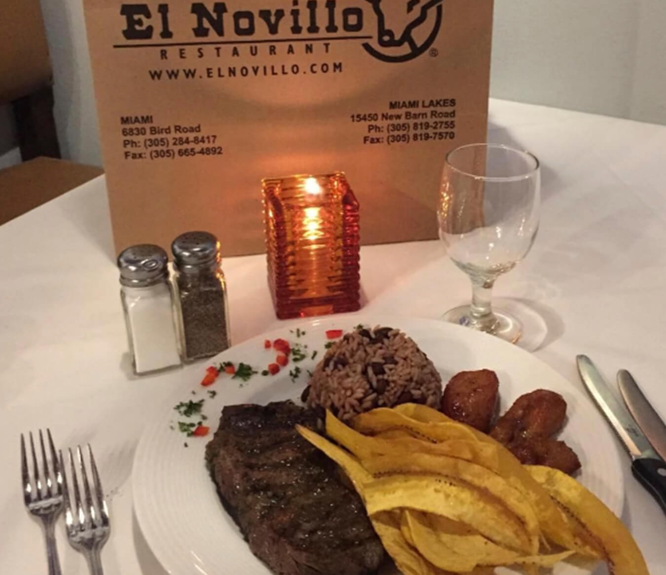 Where to Eat In Miami - El Novillo Restaurant