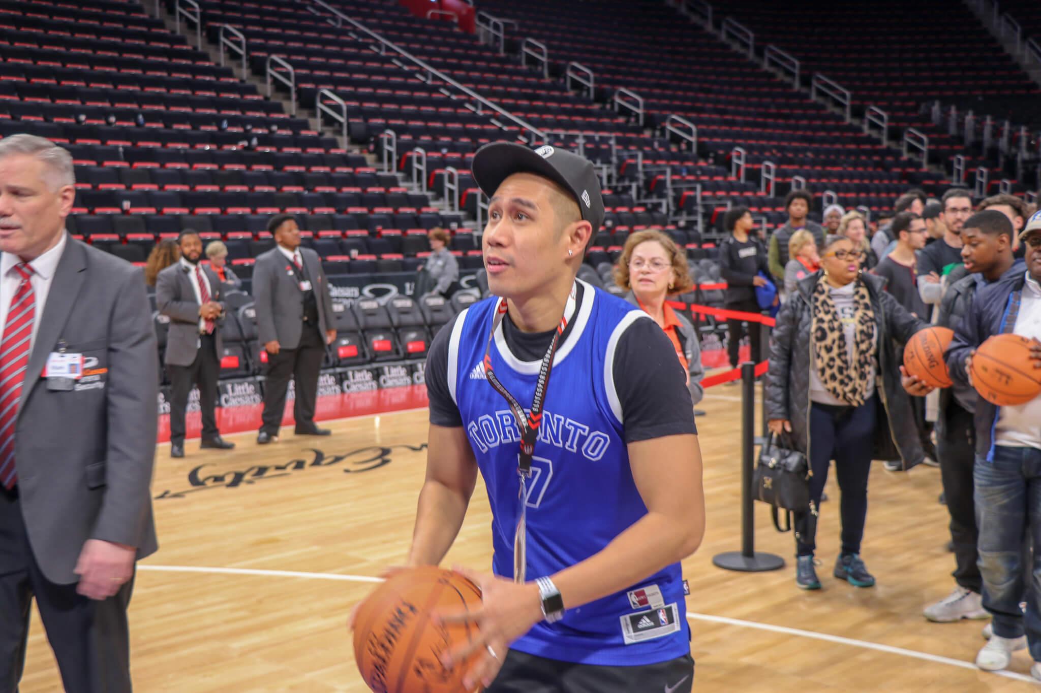 Toronto Raptors at Detroit Pistons Bus Tour