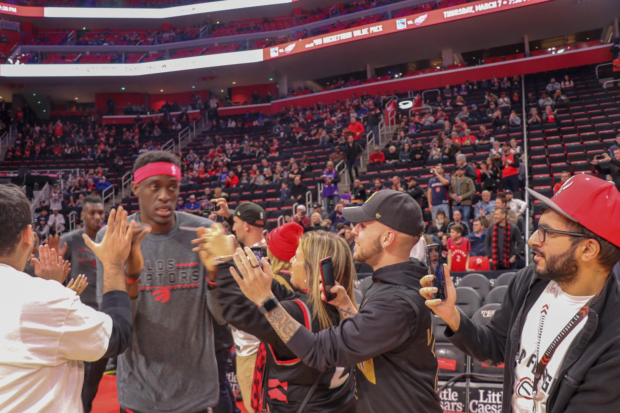 Toronto Raptors basketball Road Trip