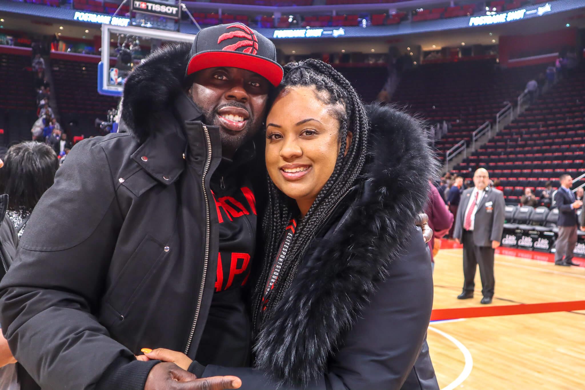 Toronto Raptors vs Detroit Pistons Bus Trip