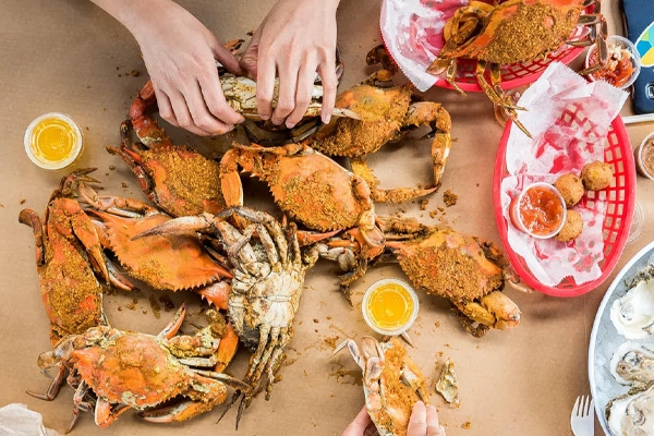 Where to Eat In Baltimore - L.P. Steamers