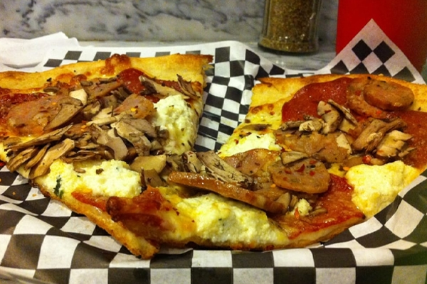 Where to Eat In Las Vegas - Secret Pizza in Cosmopolitan