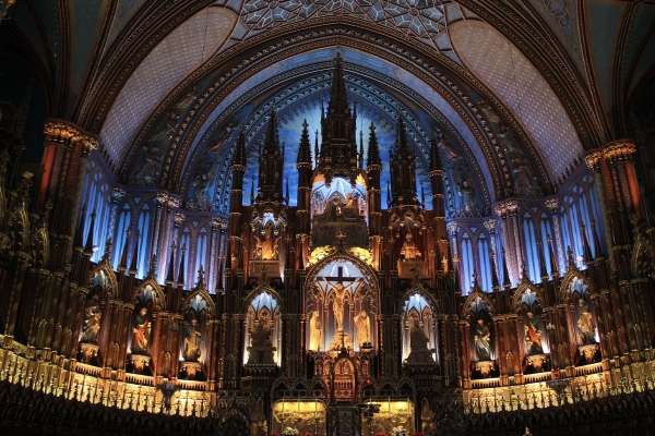 Things to Do in Montreal - Notre-Dame Basilica of Montreal