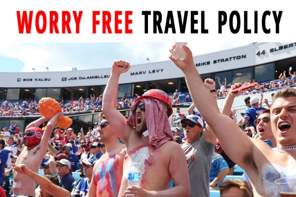 Worry Free Football Travel Policy